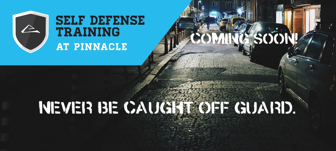 Self Defense Training at Pinnacle