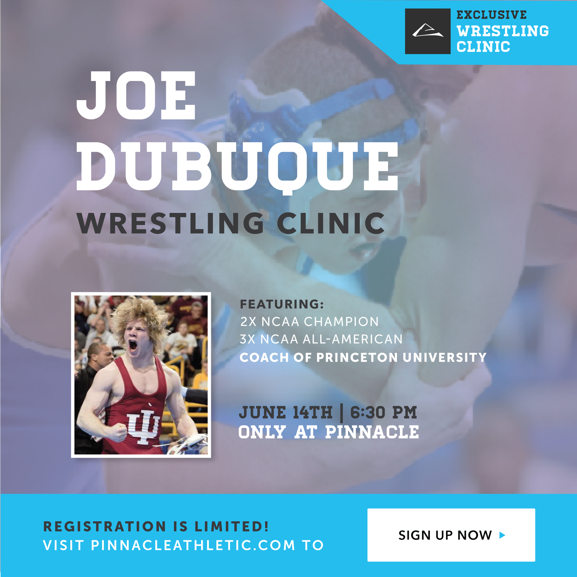 Joe Dubuque Wrestling Clinic At Pinnacle